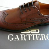 Мужские осенние кожаные туфли Gartiero 41,42,43,44,45,46 р