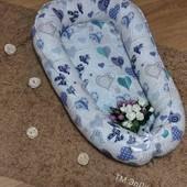Кокон для новорожденного, позиционер люлька с отстегивающимся дном