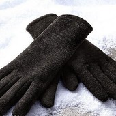 Вязаные перчатки от тсм Tchibo размер 9,5