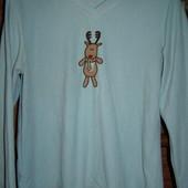 Реглан флисовый, пижамный, женский, размер S