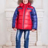 "Зимняя куртка для мальчика ""Cэм"" (5 расцветок)"