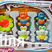 Музыкальная карусель на кроватку Baby toys 6387