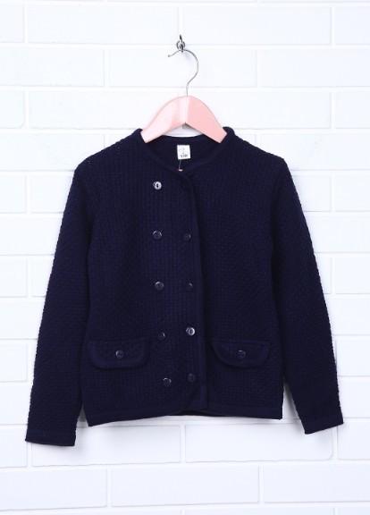 красивая и вязаная кофта пиджак в 4 цветах на девочку в школу