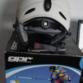 Шлем  лыжный , сноуборд р. 54-58 см, Новый в коробке, цвет белый