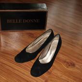 Замшеві красифі туфлі Belle Donne 37 розмір