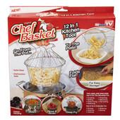 Складная Решетка для приготовления пищи Chef Basket Шеф Баскет