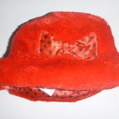 шапка шляпа на 6-12 мес