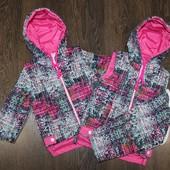 Распродажа! Куртки с отстегными рукавами, для мальчиков и девочек