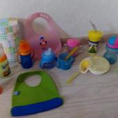 Детская посуда для малышей от 6 мес.