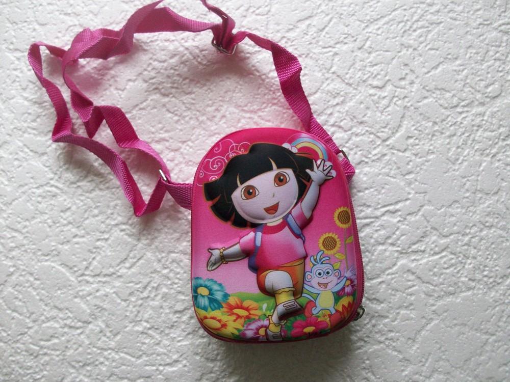 Детская сумочка с обьемным изображением фото №1