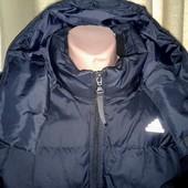 Зимняя куртка, пуховик Adidas. Размер Л оригинал бесплатная доставка НП