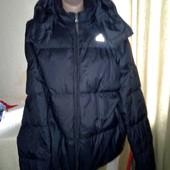 Зимняя куртка, пуховик Adidas. Размер Л оригинал
