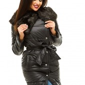 Зимние куртки с мехом разных расцветок