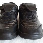 Кожаные спортивные туфли фирмы Bootleg Clarks p.39 стелька 25,5см