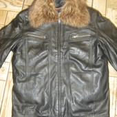 Продам осенне-зимнюю кожаную куртку