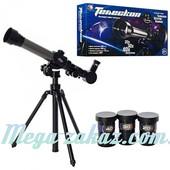 Детский телескоп со штативом и аксессуарами Tongde: длина 40,5см, поворот 360°