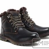 Ботинки мужские на искусственном меху Модель № :W3373