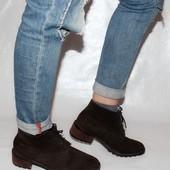 Ботинки 40 р, Bally Швейцария кожа оригинал зима