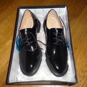 Продам новые кожаные туфли Миратон Attizzare (Португалия), 37 размер.
