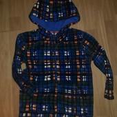 теплая флисовая кофта на 4-5-лет