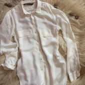 Нежнейшая блузочка Zara с пуговицами-шариками