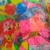 Надувные шарики!! упаковки по 100 шт. 50 и 25