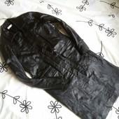 Крутое пальто из натуральной кожи Miss Selfridge, размер 38