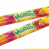 Жевательные конфеты ассорти Mamba Storck Германия