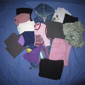 Хороший пакет одежды на девочку 6-8 лет.