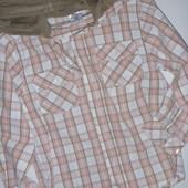 рубашка с капюшоном на рост 116 см