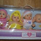 You & Me so many babies  пупс   В наборе 5 милых разных малышей.    У каждой