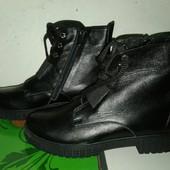 Акция!!!Натуральная кожа!!! ботинки демиКод: АКция!!!