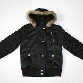 9 лет (134см) Теплая куртка для девочки