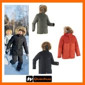 Теплая зимняя водонепроницаемая куртка Quechua от 8 до 14 лет