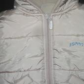 Курточка зимняя еврозима Esprit рост 80-86 сток идеал. состояние