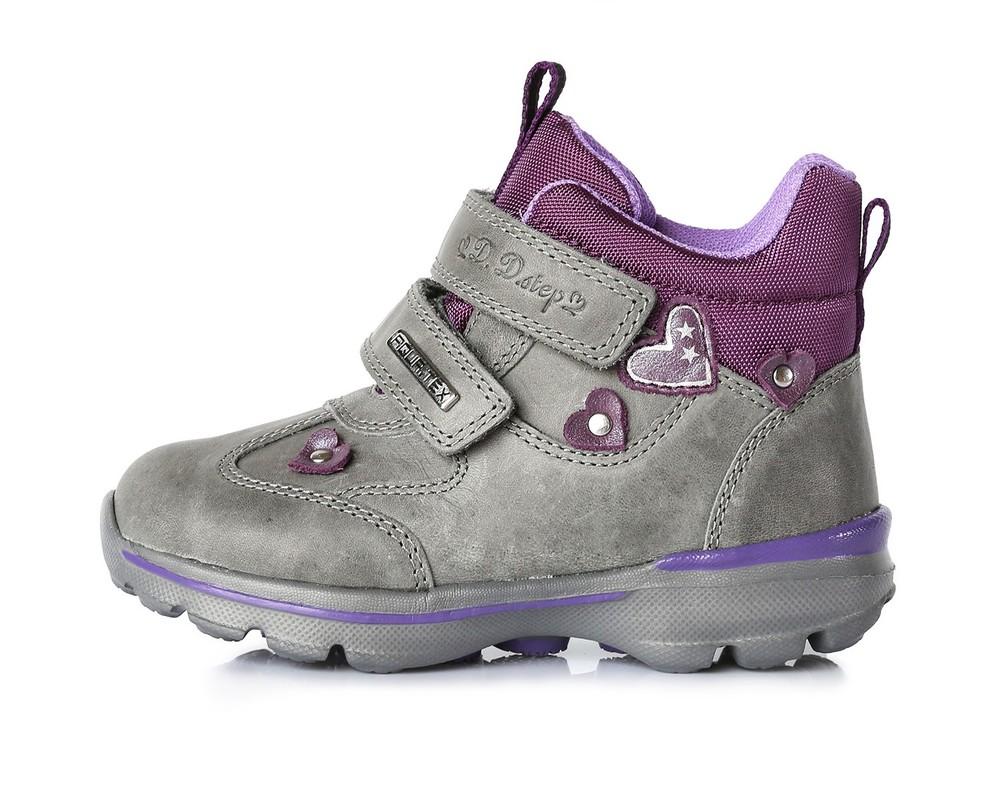 Демисезонные водонепроницаемые ботинки для девочки фото №1