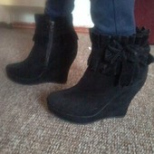 Centro замшевые ботинки