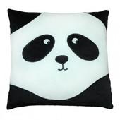 Подушка Тигрес Панда - смайл грустный 33 см