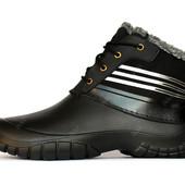 Ботинки мужские зимние из пены на меху (М-3ч)