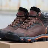 Ботинки кожаные зимние Merrell