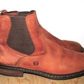 кожаные ботинки 28 см