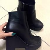 Женские ботинки Зима Натуралки
