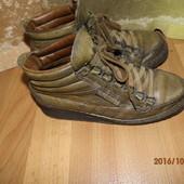 (№і034)фирменные кожаные ботинки 38 р Mephisto унисекс