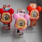 Часы  Микки Маус на гибком браслете