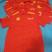 "Рубашечка мужская ""Shell"", размеры E, F. Лот - 1шт. Уп 10грн"