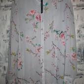 Сногсшибательная удлиненная блуза р-р 48-50