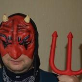 Маска Дьявола резиновая