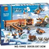 конструктор bela серия urban arctic 10442 арктический лагерь (аналог lego city 60036)