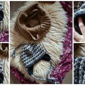 Шерстяная шапка Handmade