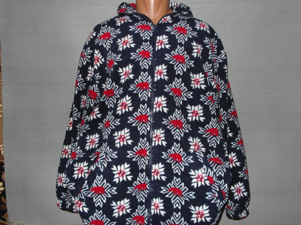 Тёплая толстовка-куртка. фото №1